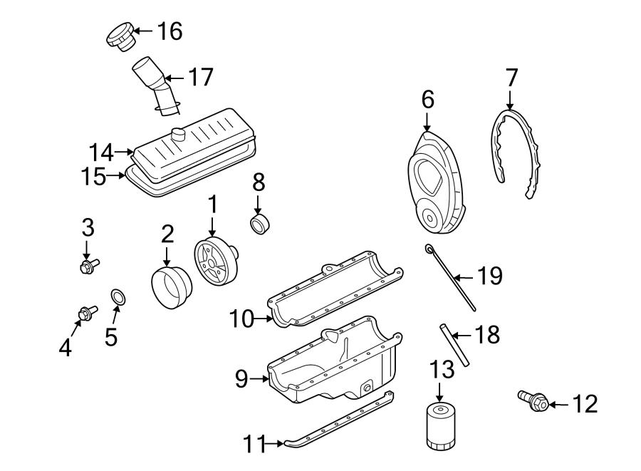Chevrolet S10 Engine Oil Dipstick Tube. 4.3 LITER
