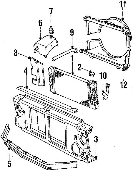 Chevrolet S10 Blazer Radiator Cap. LITER, CYLINDER, DIESEL