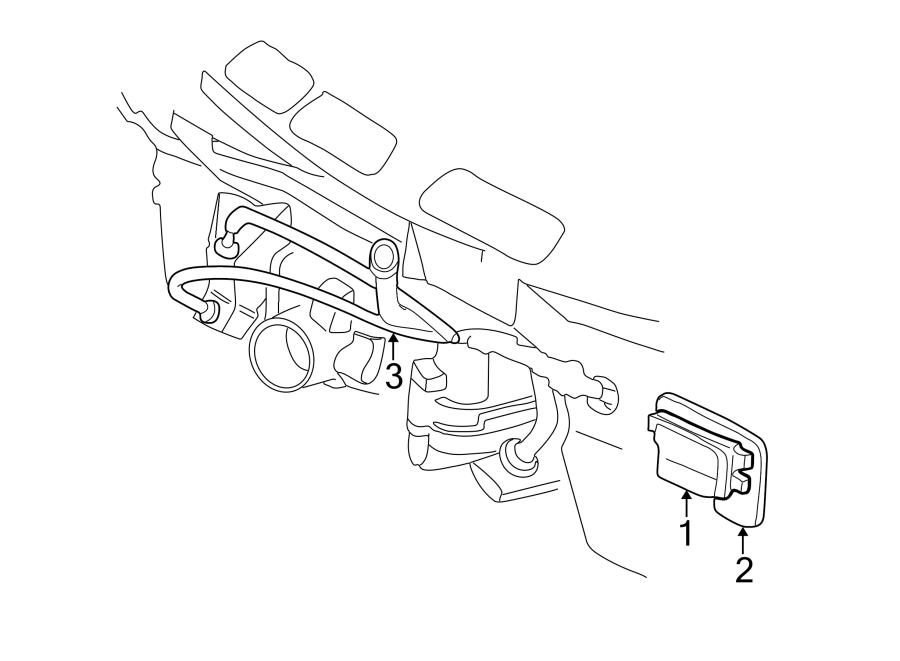 1996 Chevrolet Cruise Control Module. Incl, Actuator