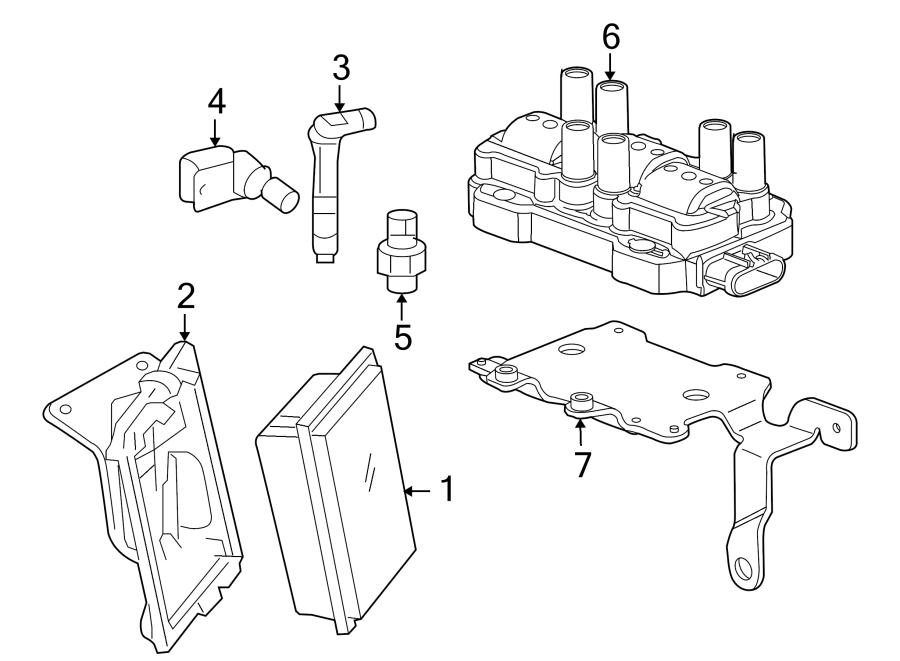 Buick Rainier Sensor. CAMSHAFT. Position. Engine