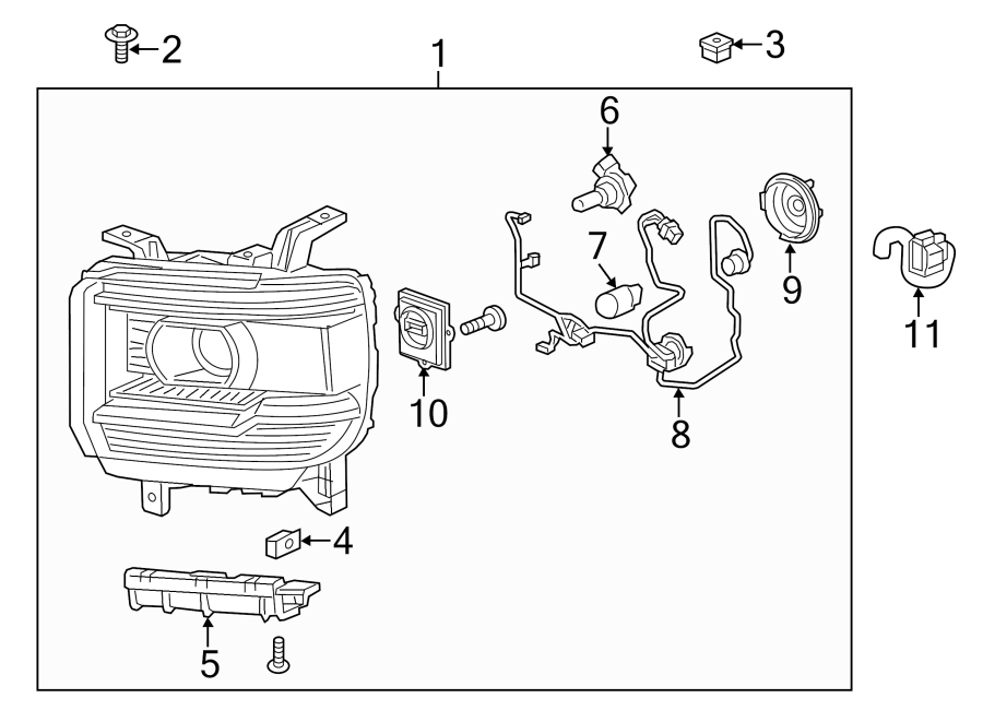 [DIAGRAM] 2010 Gmc Headlight Wiring Harness Diagram FULL