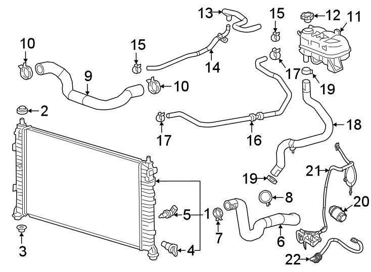 Chevrolet Silverado 1500 Engine Heater Cord. 2.7 LITER