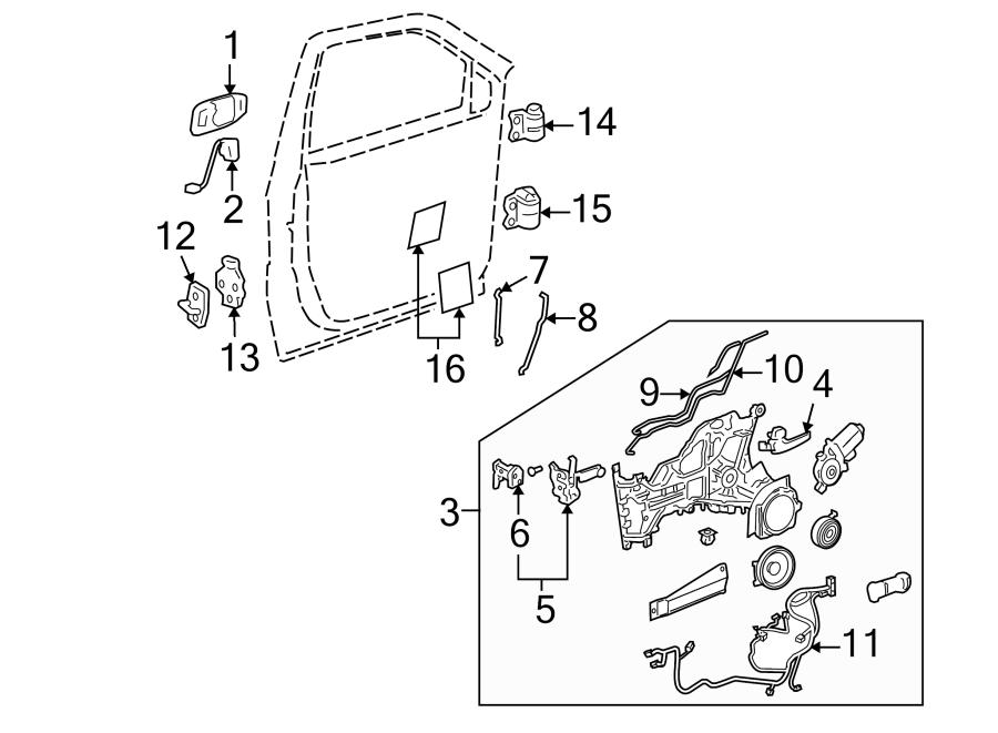 Chevrolet Venture Regulator. MODULE. Montana SV6; Left