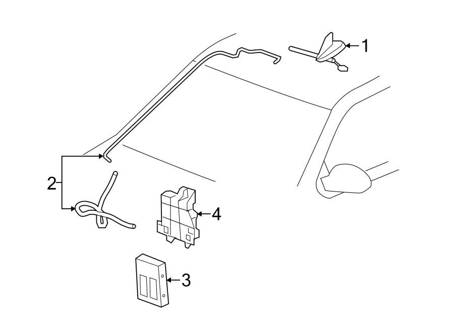 GMC Sierra 1500 Bracket. Mount. Module. GPS Navigation