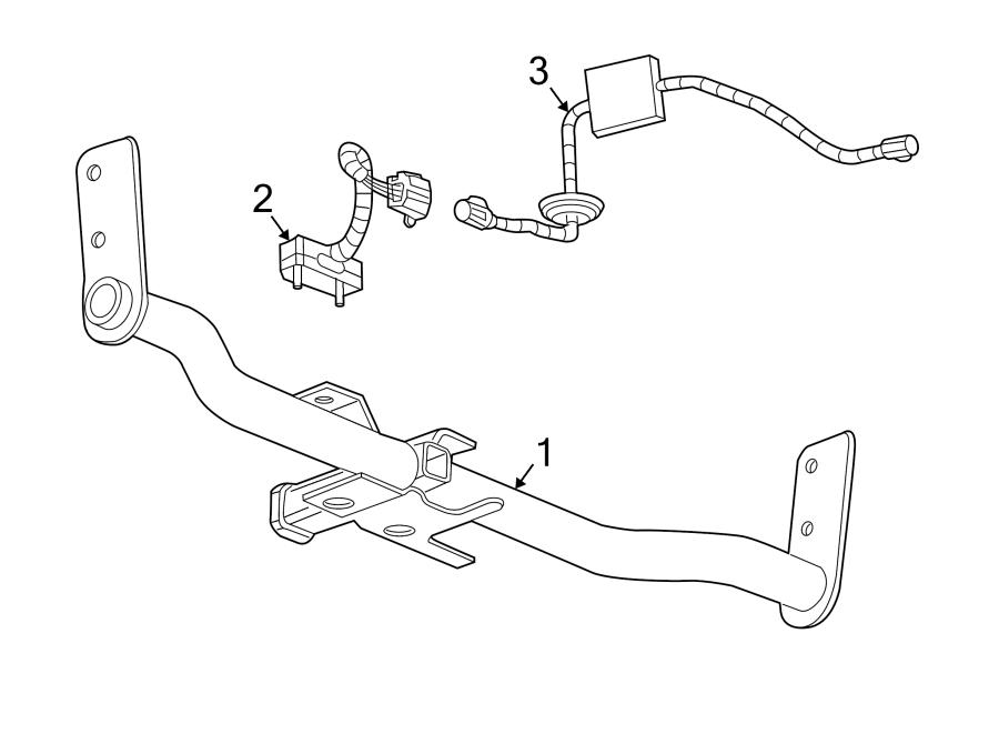 2013 Chevrolet Equinox Trailer Hitch. 2010-15. 2016-17. W