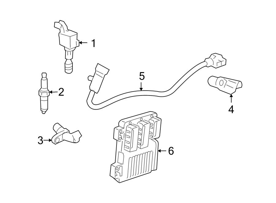 Saturn Aura Engine Camshaft Position Sensor. LITER, Repair