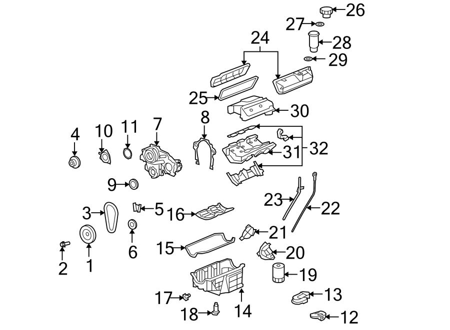 Chevrolet Uplander Gasket. Manifold. KIT. PLENUM