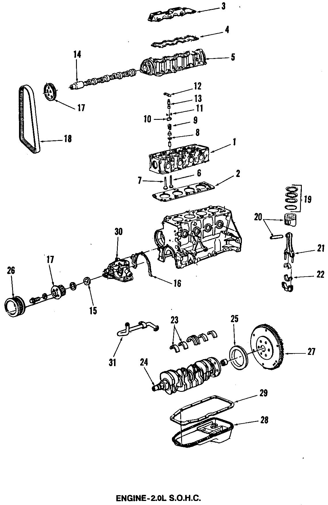 Pontiac Grand Am Engine Valve Stem Oil Seal. All Models