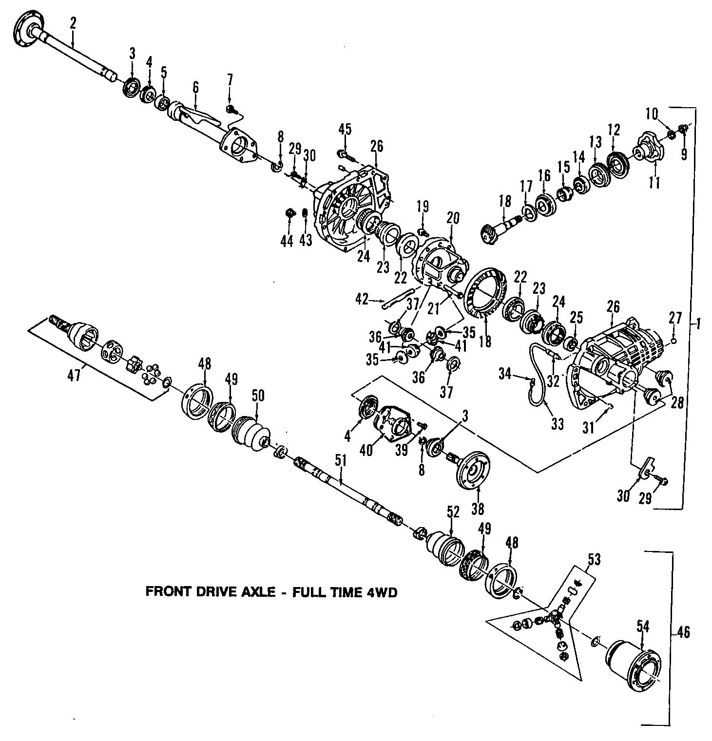Axle Housing Tube