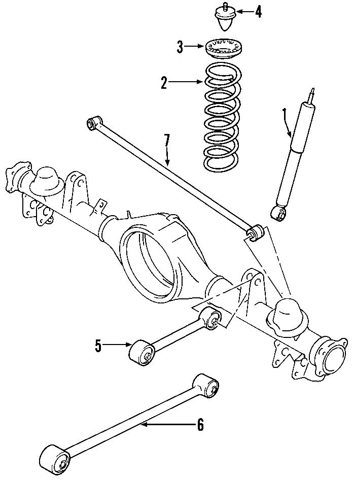 trailblazer lower control arm diagram
