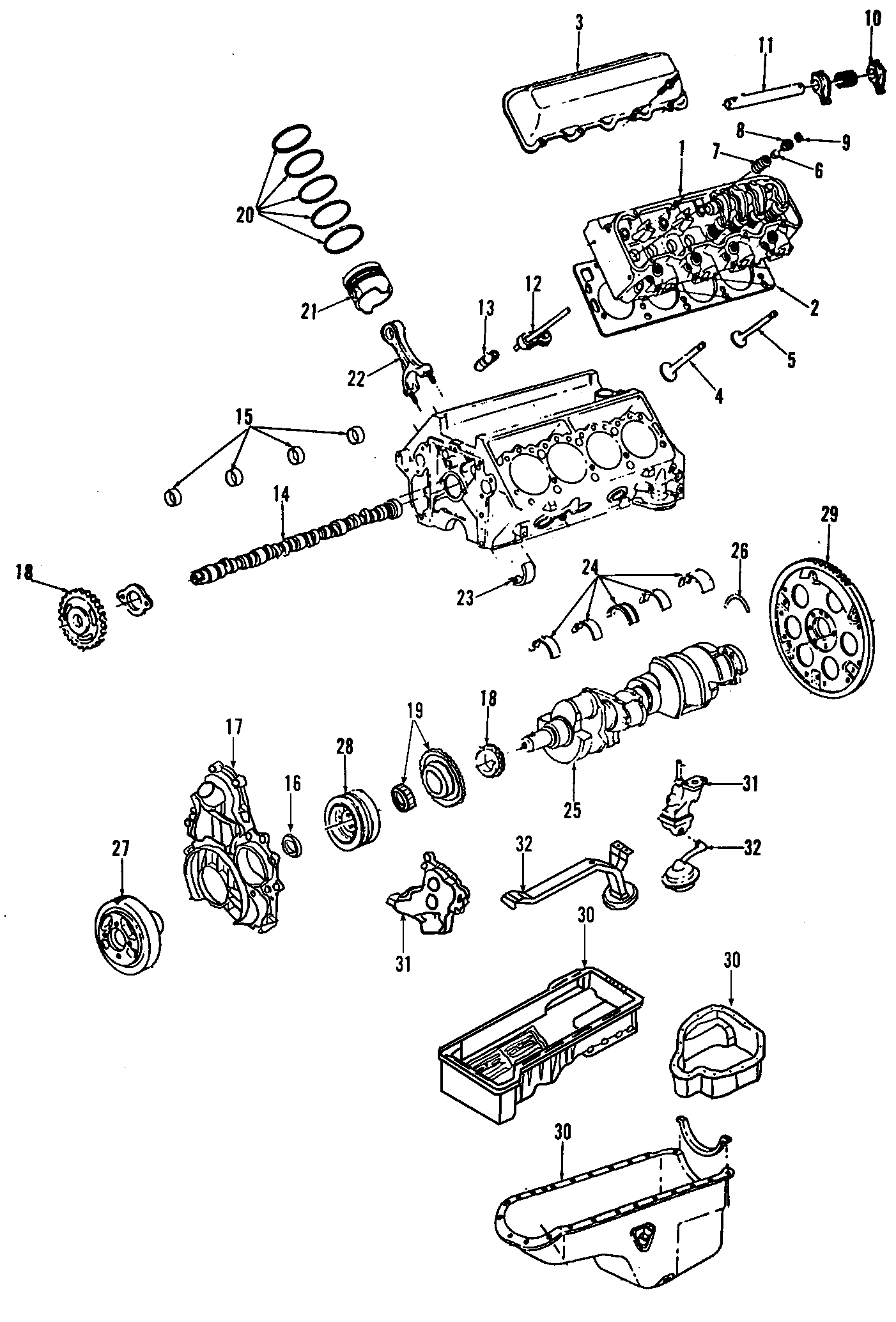 Pan Oil Engine Lower