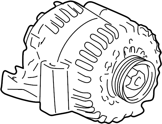 Buick Lesabre Alternator. Battery, Replaced, Amp
