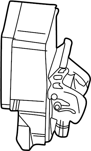 2001 Oldsmobile Aurora Abs control module. Exc.electronic
