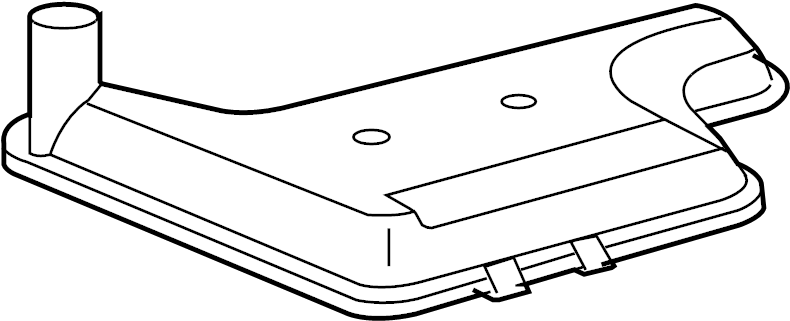 Cadillac Eldorado Transmission Filter. LITER, TRANSAXLE