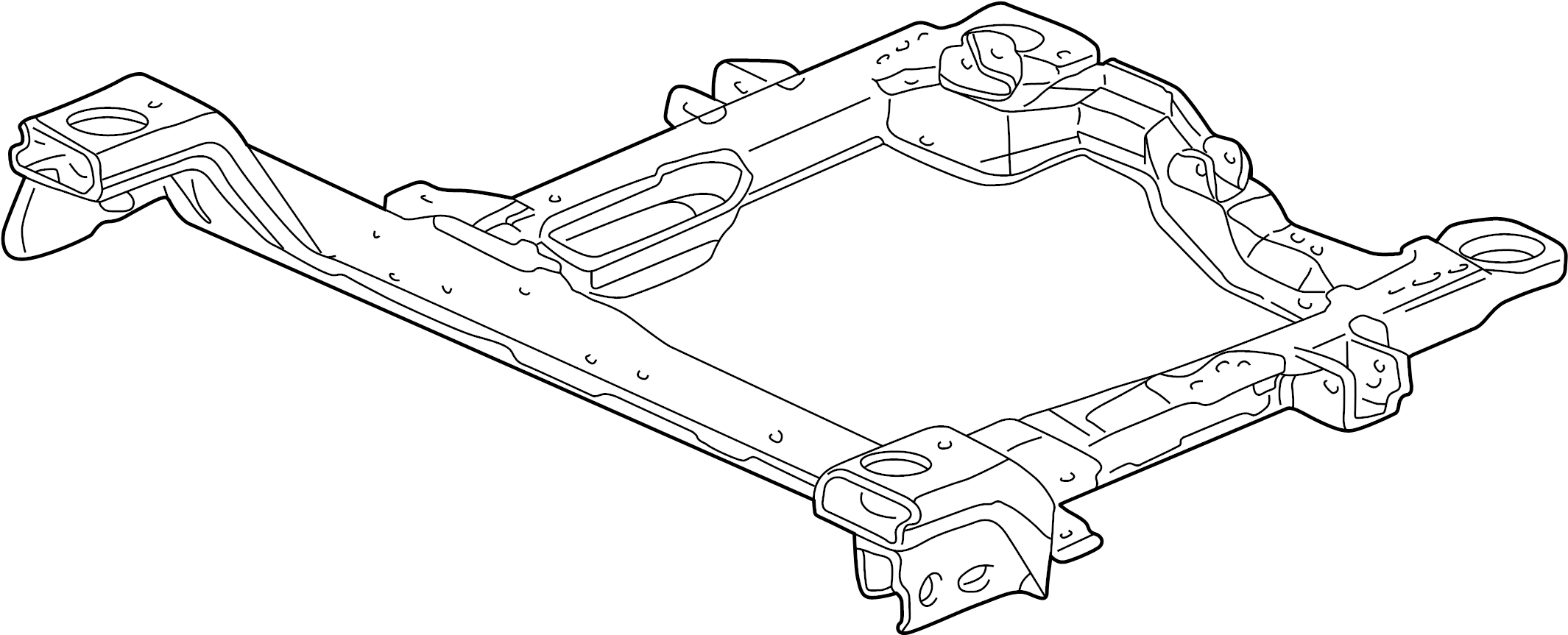 Buick Century Engine Crossmember Cradle Bracket