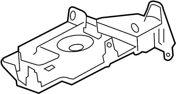 GMC Acadia Bracket. Fuse. 1st design. ENGINE COMPARTMENT