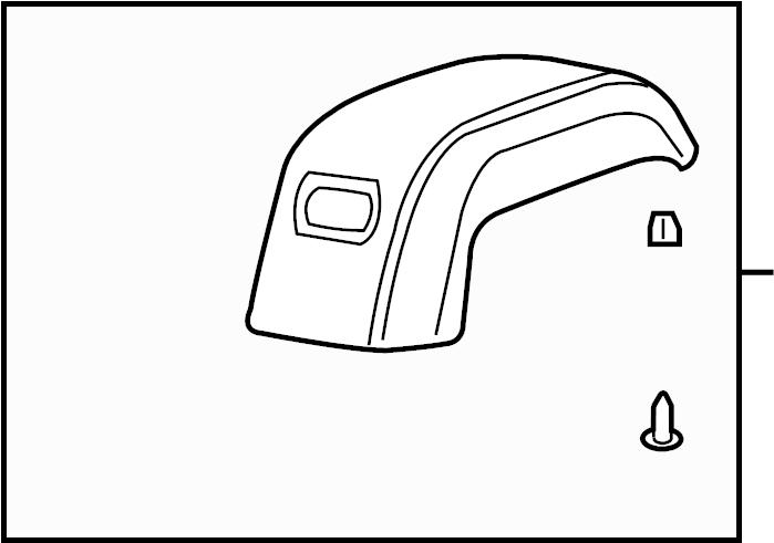 2010 Buick Enclave Armrest ASSEMBLY. Console Armrest