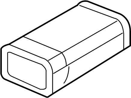 Oldsmobile Intrigue Vapor Canister. LITER, EMISSIONS