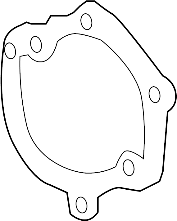 GMC Terrain Engine Water Pump Gasket. LITER, TWIN, COOLING
