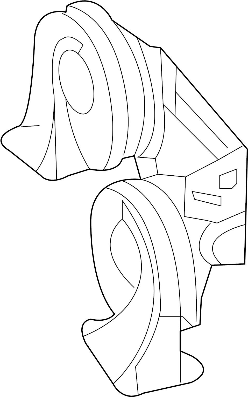2007 Chevrolet Horn kit, generic (high note). Buick