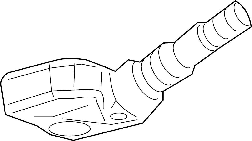Cadillac CTS Tire Pressure Monitoring System Sensor. MHZ