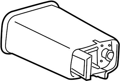 2005 Pontiac Vapor canister. Exc.PZEV Spec. LITER