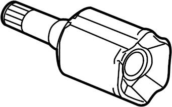 Buick Regal Cv joint kit. Manual trans. Regal; manual