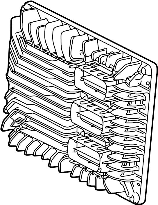 GMC Acadia Engine Control Module. LITER, SYSTEM, ECM