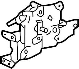 Pontiac Trans Sport Lock. Actuator. (Front, Rear