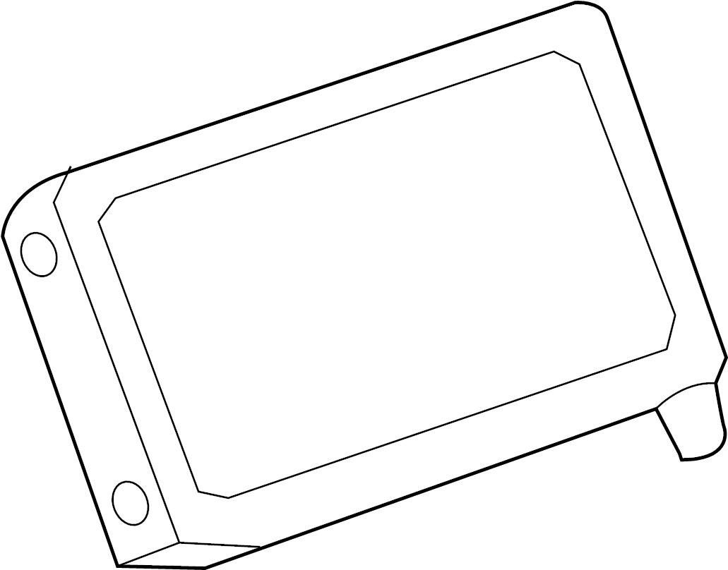 Chevrolet Cruze Display system. Display unit. Gps