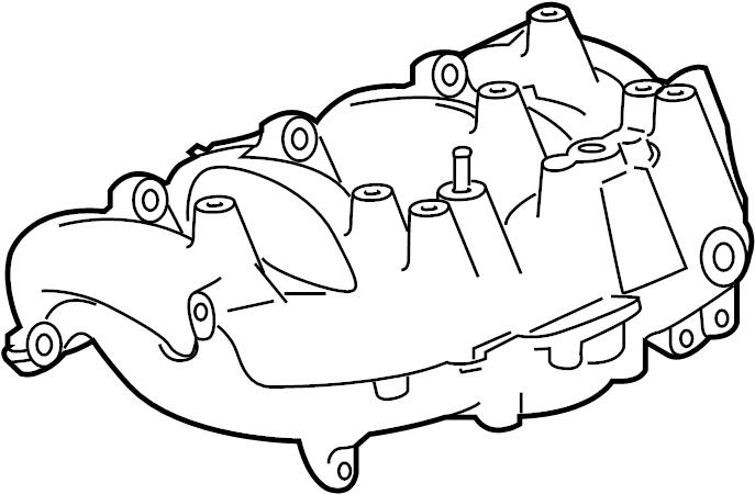 Buick Verano Engine Intake Manifold. 2.0 LITER TURBO. 2.0