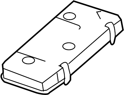Cadillac DTS Fuse Box Cover (Upper, Lower). ENGINE