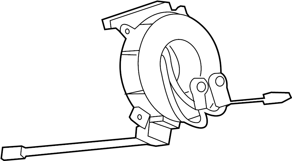 Cadillac ATS Air Bag Clockspring. MODULES, SENSORS, Wheel