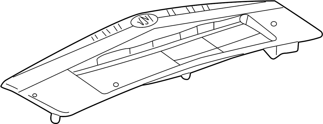2003 Cadillac Lamp. Tail. Light Assembly. Combo ASSEMBLY