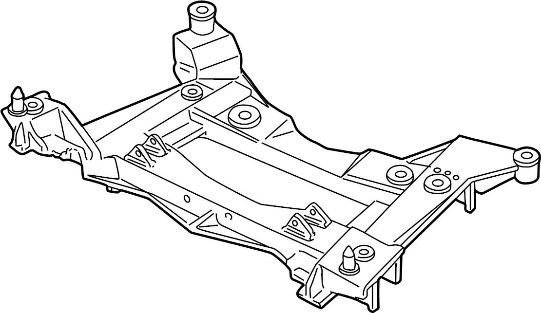 Chevrolet Corvette Engine Cradle. BASE & 427. Corvette