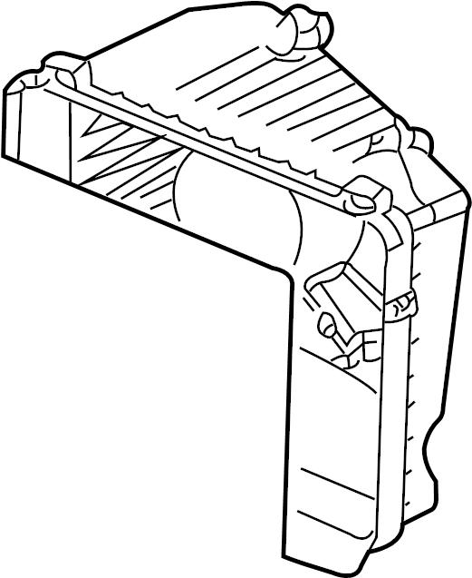 2001 Pontiac Air Filter Housing (Upper). LITER