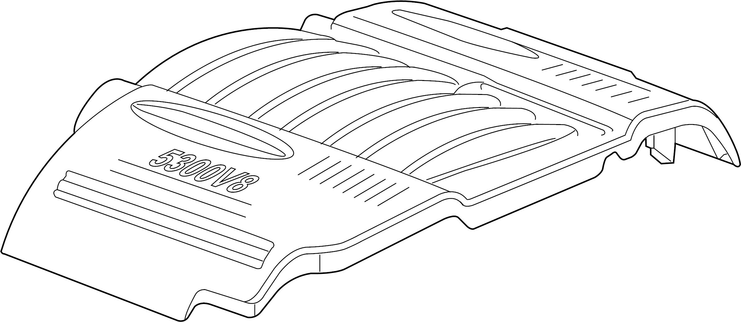 Pontiac Grand Prix Engine Cover 5 3 Liter Transaxle