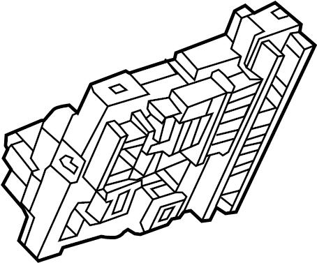 Chevrolet Equinox Box. Fuse. Relay. AND. Center. BLOCK