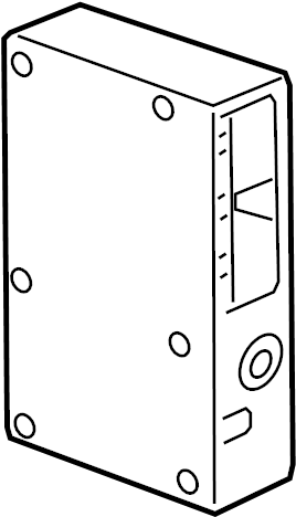Buick Verano Gps navigation control module. Mobile phone