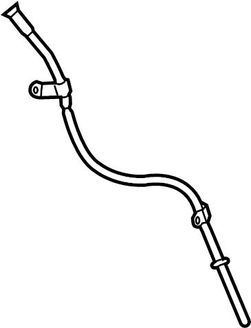 Chevrolet Cruze Engine Oil Dipstick Tube. 2.0 LITER TURBO