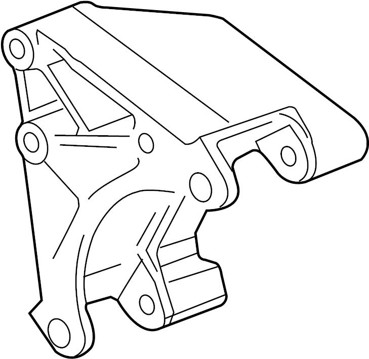 Chevrolet Camaro Alternator Bracket. 6.2 LITER W/O