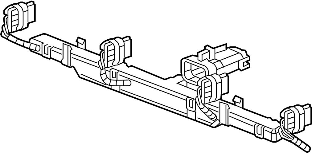 Chevrolet Express 3500 Engine Wiring Harness. LITER, Wire
