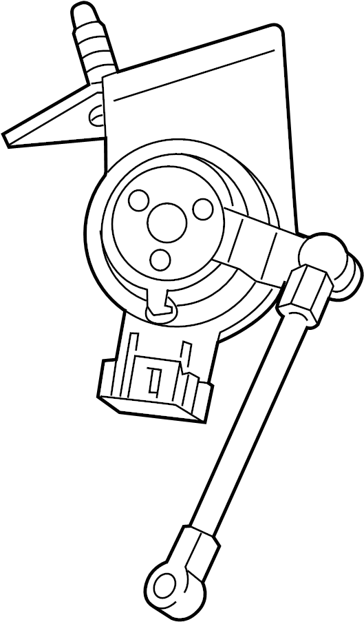 Chevrolet Camaro Suspension Ride Height Sensor. Rear