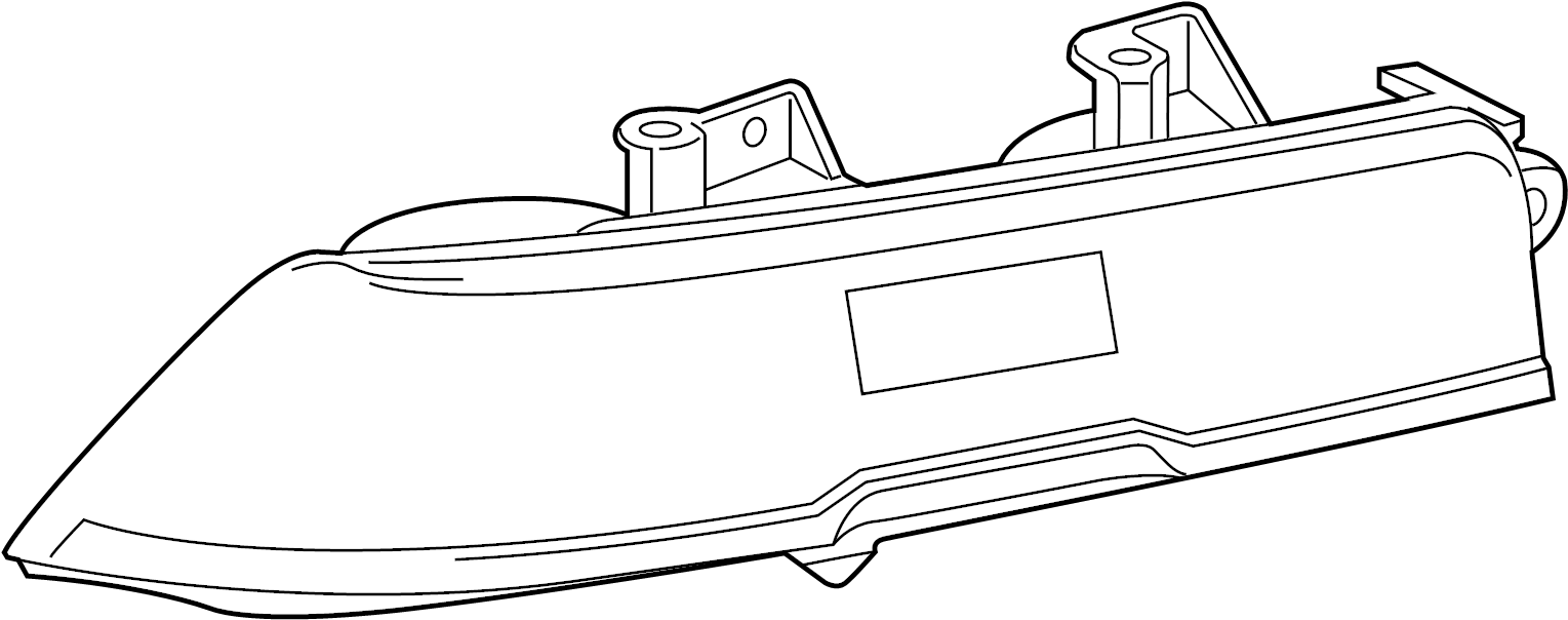 2015 Chevrolet Camaro Tail Light Assembly. 2014-15, W/LED