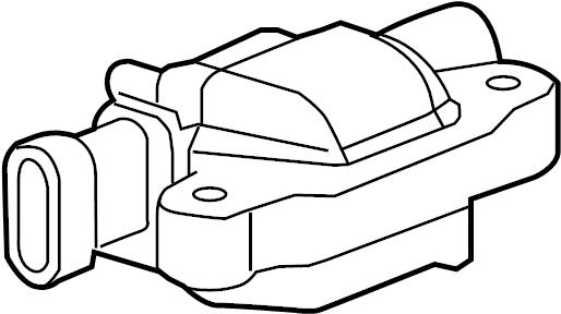 Chevrolet Silverado 1500 Ignition Coil. Delphi, LITER