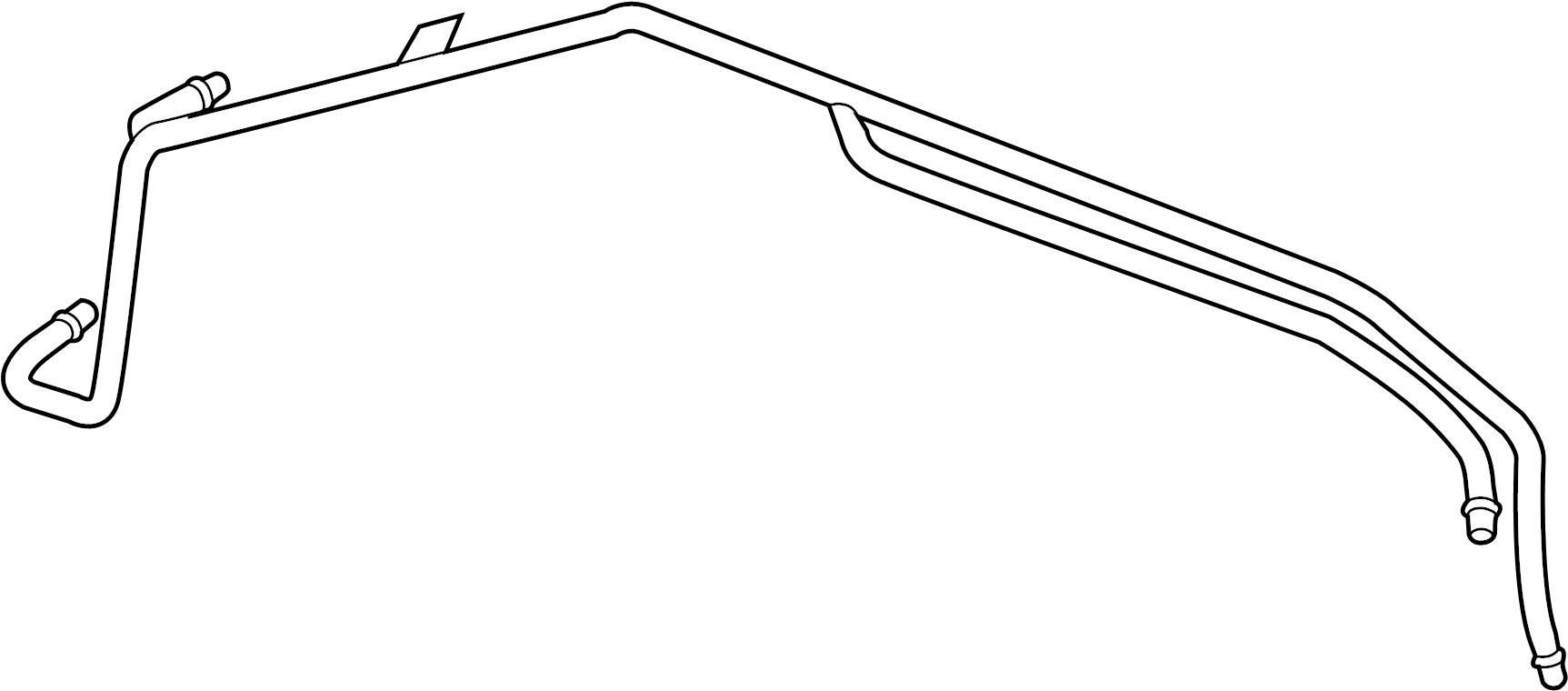 Chevrolet Corvette Automatic Transmission Oil Cooler Tube