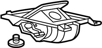 Chevrolet Corvette Console Compartment. CONSOLE