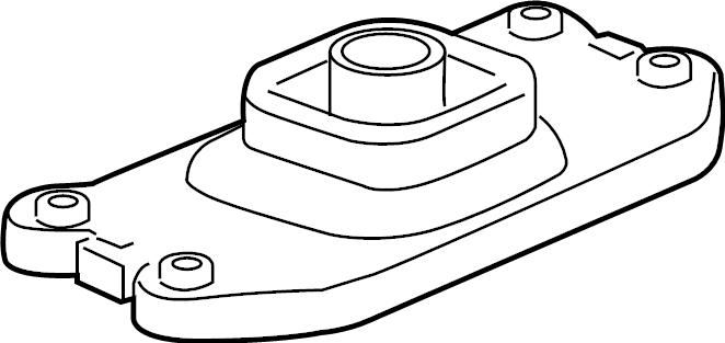 Chevrolet Corvette Automatic Transmission Shift Cover