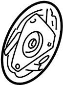 Oldsmobile Cutlass Ciera Clutch. Conditioning. Compressor