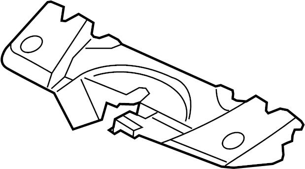 Chevrolet Monte Carlo Radiator Support Air Deflector